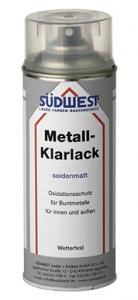Metall Klar Lack, seidenmatt, 400 ml, Südwest