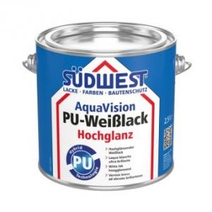 AquaVision PU Weißlack Hochglanz, Südwest