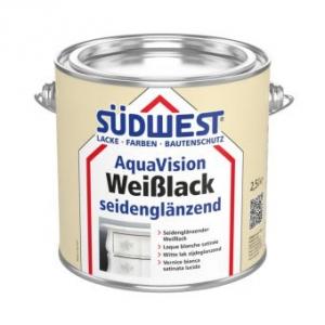 AquaVision Weißlack seidenglänzend, Südwest