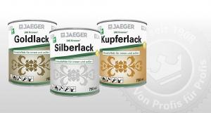 246 Kronen Goldlack, Silberlack, Kupferlack