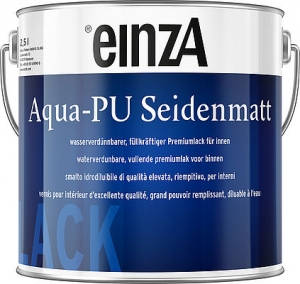 einzA Aqua PU Seidenmatt