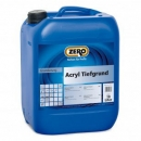 Acryl Tiefgrund, Zero