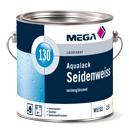 Aqualack Seidenweiss 130, 2,50 Liter, MEGA