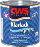 CWS Klarlack Aqua PU satin, cd color