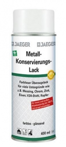 Metallkonservierungslack Spray 609, 400 ml, Jäger