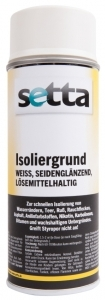 setta Isoliergrund Spray, weiß