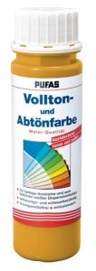 Vollton und Abtönfarben, Pufas