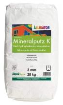 Mineralputz K, Alligator