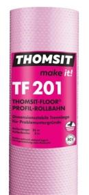 TF 201 Thomsit Floor Profil Rollbahn, Thomsit, henkel