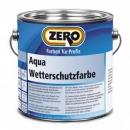 Aqua Wetterschutzfarbe, Zero