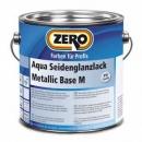 Aqua Seidenglanzlack Metallic Base M, Zero